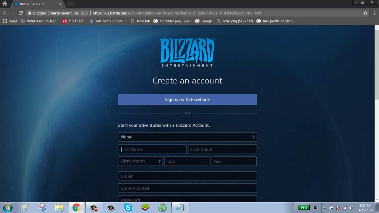 Battle Net Account Löschen