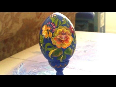 Пасхальные яйца своими руками Хорошая ИДЕЯ