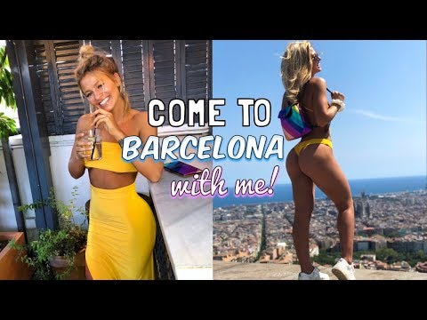 COME TO BARCELONA WITH ME! | GIRLY WEEKEND AWAY! HOLIDAY VLOG