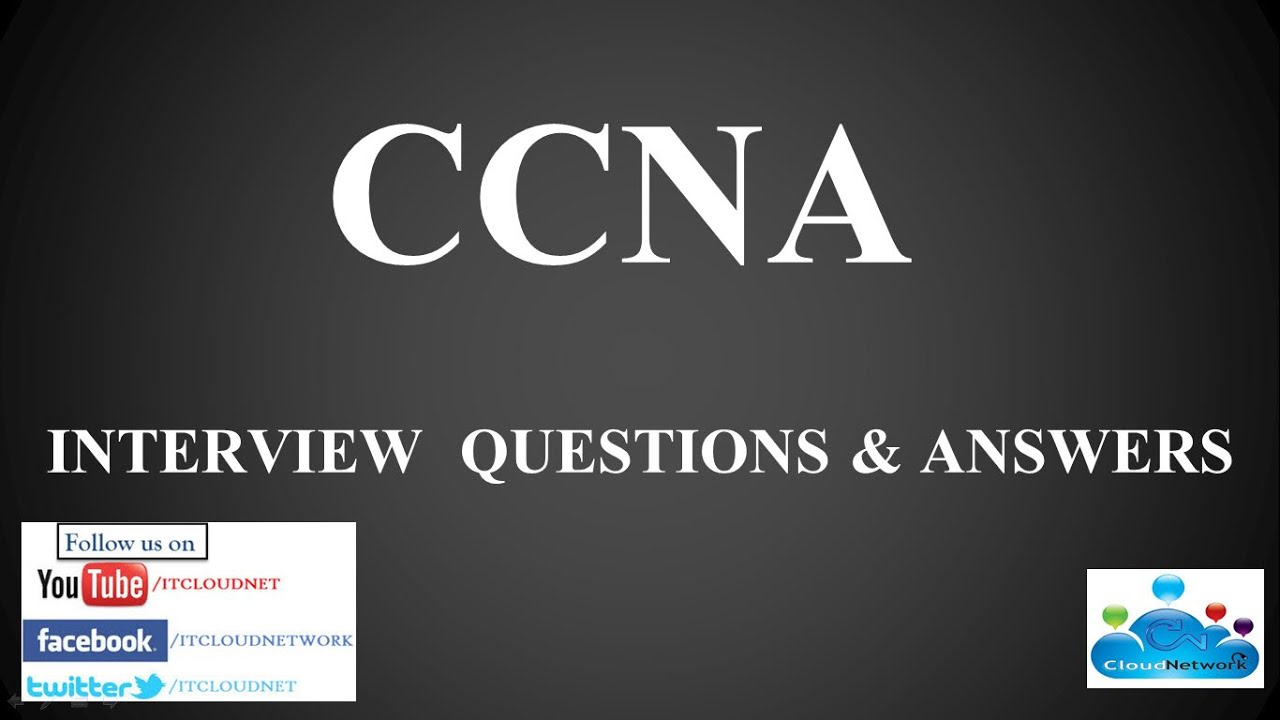 Ccna Networking Interview Questions And Answers Pdf