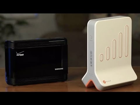 Cell Phone Signal Booster vs Femtocell (Microcell by AT\u0026T, Verizon