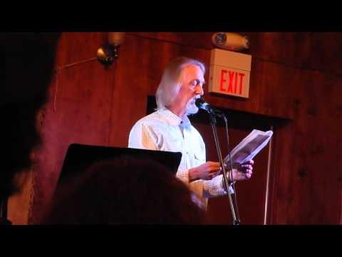 Kurt Roggli reciting Bob Dylan's poetic lyrics at Thursday Live! 10-1-2015