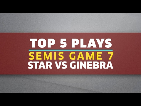 Top 5 Plays | Semis Game 7: Star vs. Ginebra | PBA Philippine Cup 2016 - 2017