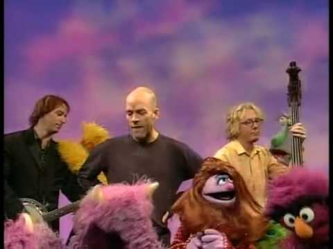 Resultado de imagen de Elmo DVD - REM sings Shiny Happy Monsters on Sesame Street HD quality