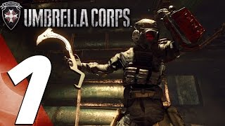 Resident Evil Umbrella Corps - Multiplayer Online Gameplay Part 1 - First Matches