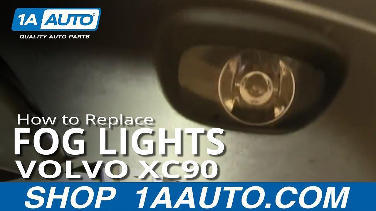 How To Replace Fog Driving Light 03-12 Volvo XC90