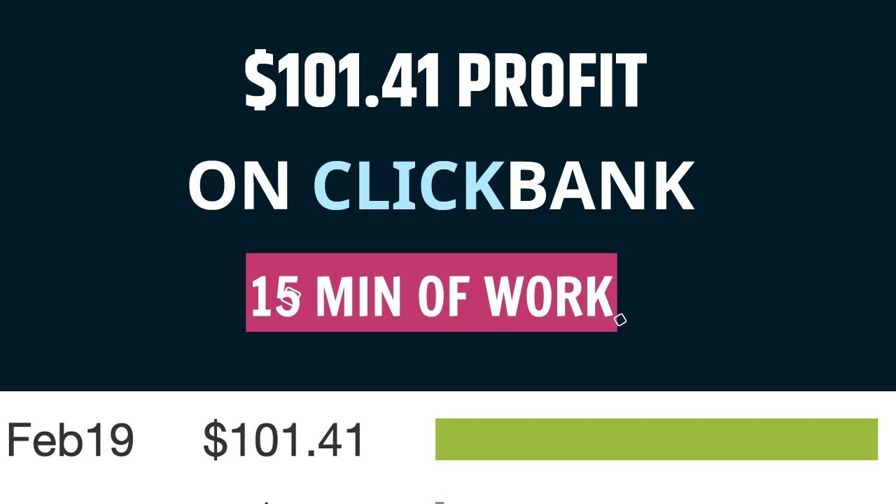 *PROOF* How I Made $101.41 With Clickbank in 15 Min On Day 1 With Copy & Paste