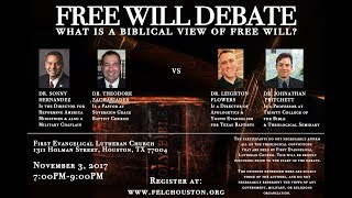 Free-Will Debate: Hernandez & Zachariades vs. Flowers & Pritchett