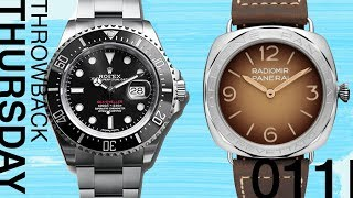 Throwback Thursday: This or That - Rolex vs. Panerai!