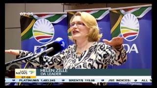 Zille expressed concern over the independence of SA