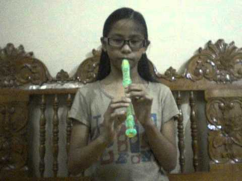 Caryll Playing Flute :)