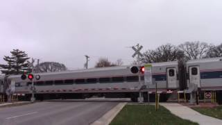 Amtrak 61 North Pontiac, IL 11/27/16