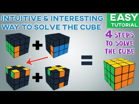 How to Solve the 3x3 Rubik's Cube: Beginner's Roux Method (Easy Tutorial)
