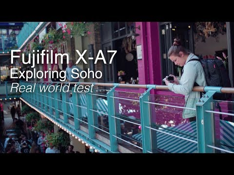 Fujifilm X-A7 | Hands on field test around London