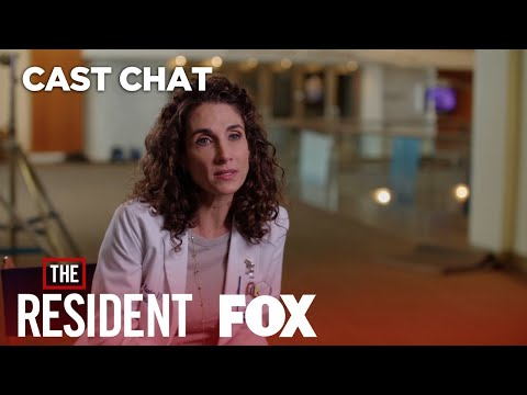 Melina Kanakaredes As Dr. Lane Hunter  Season 1  THE RESIDENT