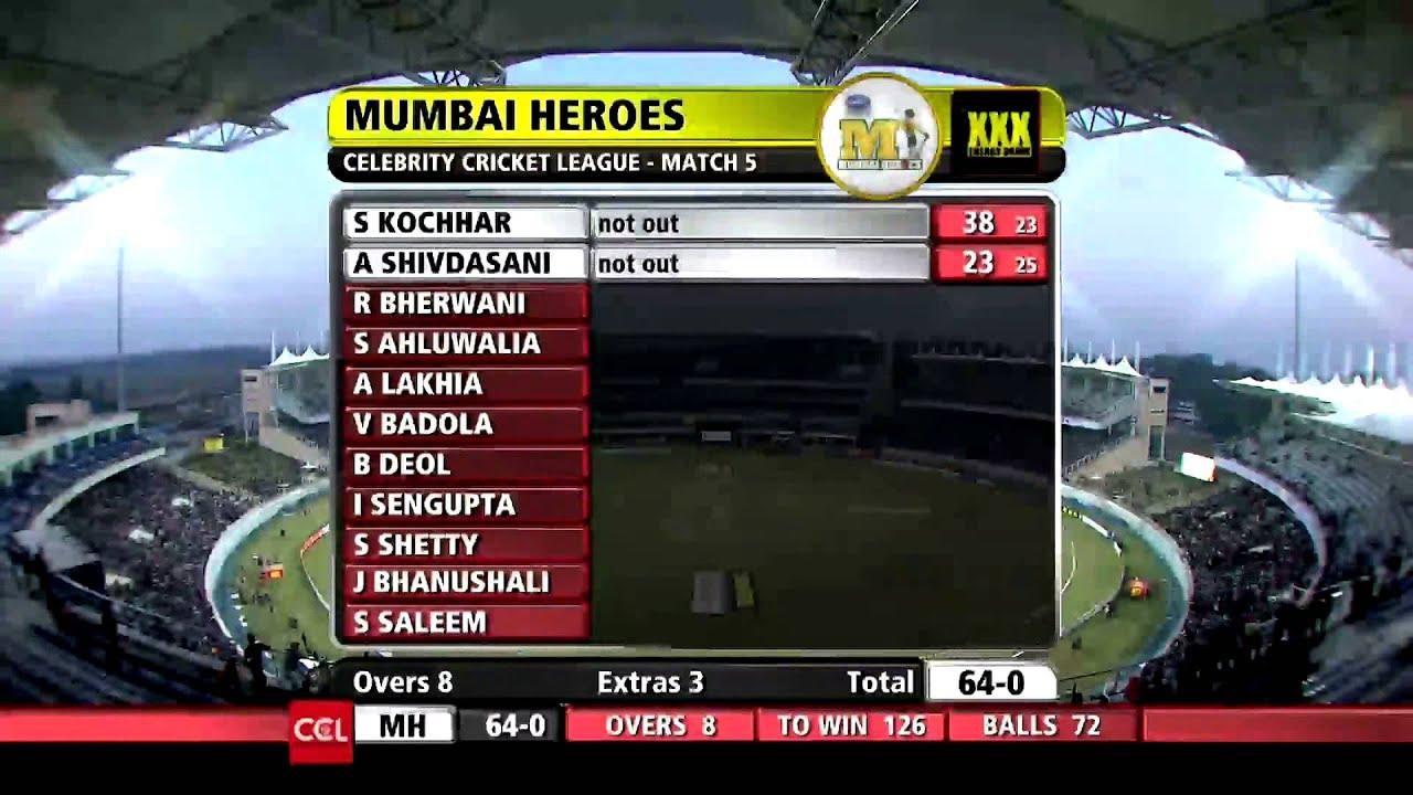 CCL T10 Blast Match I Mumbai Heroes VS Kerala Strikers I ...