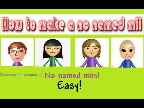 Wii U Hacked Mii name symbols QR Codes! No Hacked Wii U