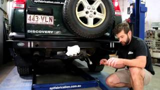DIY Install Land Rover Discovery 2 APT Rear Bar