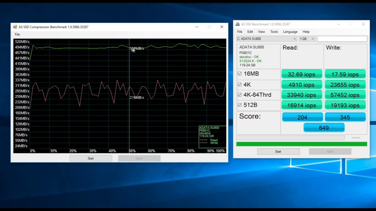 ADATA Ultimate SU800 Review   High TBW   SSD benchmarks