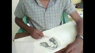 katrina kaif drawing.wmv