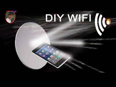 Cách Bắt Sóng Wifi ở Xa Cho Laptop, điện Thoại   Increase Wifi Reception Android