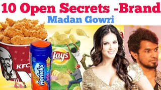 10 Open Secrets Brands   Tamil   Madan Gowri   MG