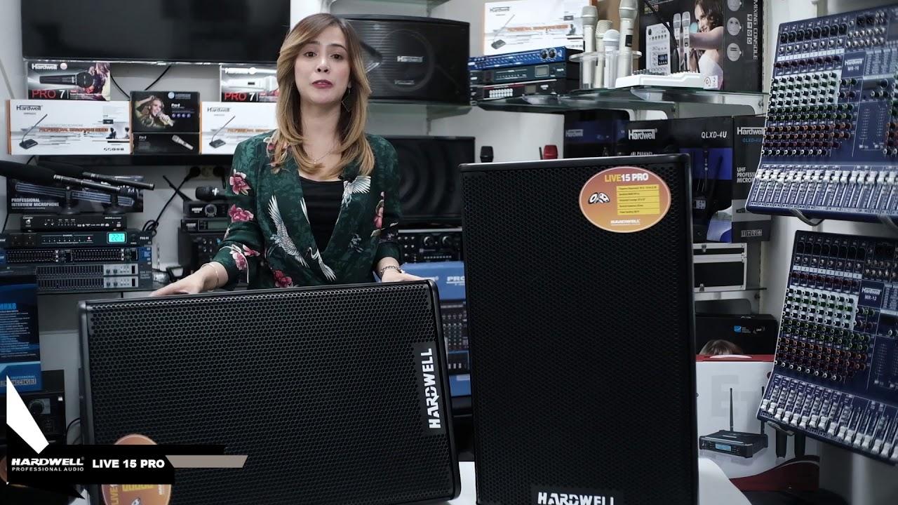 Download Speaker Passive Fullrange Hardwell Live 15 Pro