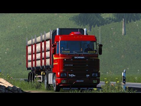 ETS 2 1.27 ProMods 2.16 Scania 143m  Vaduz - Linz