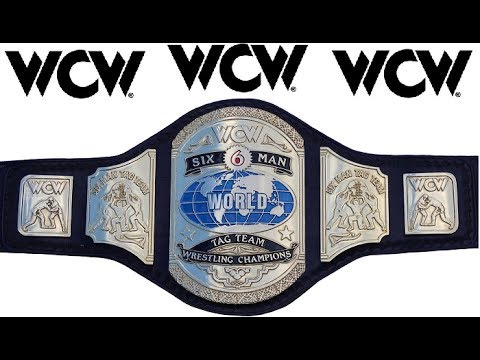 wcw world sixman tagteam championship youtube