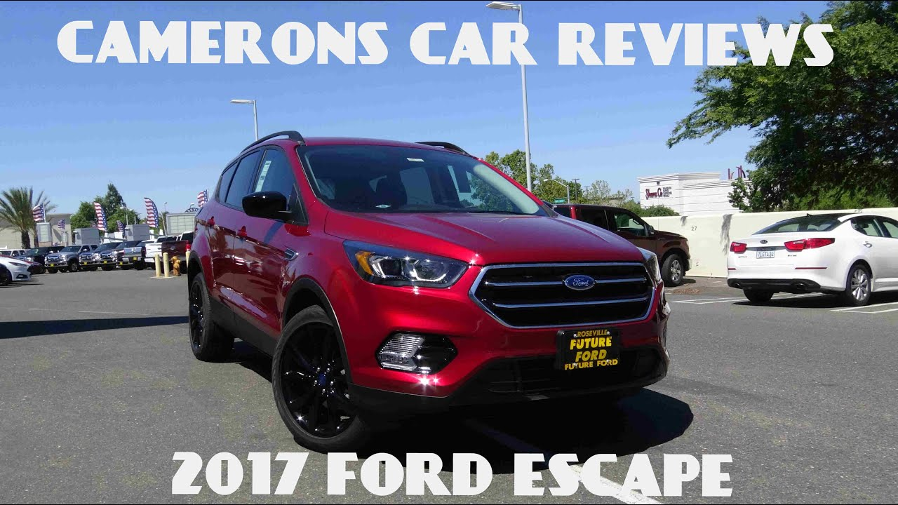 2017 ford escape se 1 5 l 4 cylinder turbo review camerons car reviews youtube. Black Bedroom Furniture Sets. Home Design Ideas