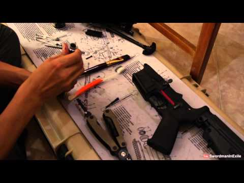 ถอดประกอบทำความสะอาดปืนCMMGแบบละเอียด -  SwordmanInExile