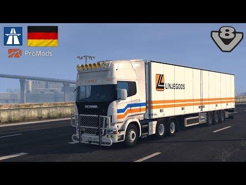 ETS2 1 30 - Germany Autobahn Rebuilding(ProMods) - Best