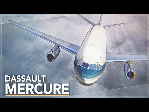 A Commercial Failure: The Dassault Mercure Story