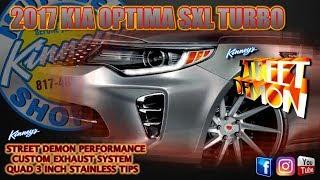 Kia Optima Performance Parts