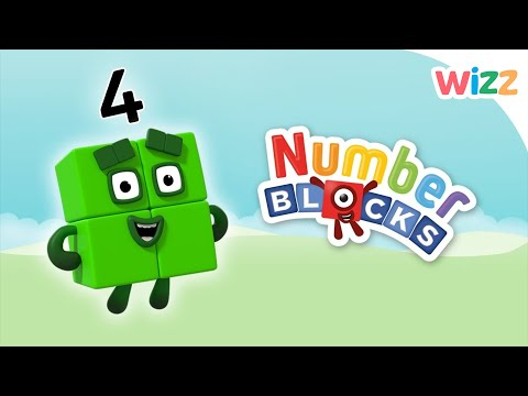 Numberblocks - Learn to Count | Number Four