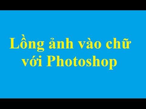 Lồng ghép ảnh vào trong chữ trên Photoshop - http://taimienphi.vn