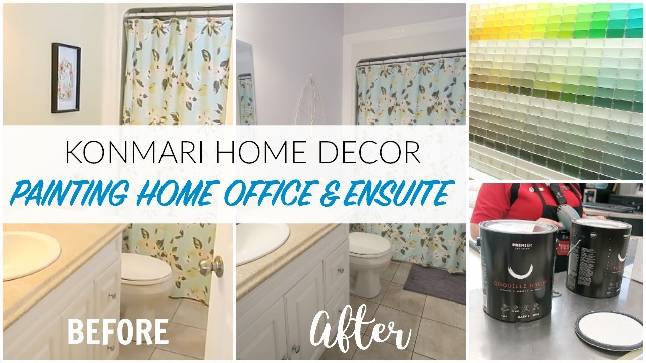 Konmari Home Decor Before After Home Office Ensuite Painting