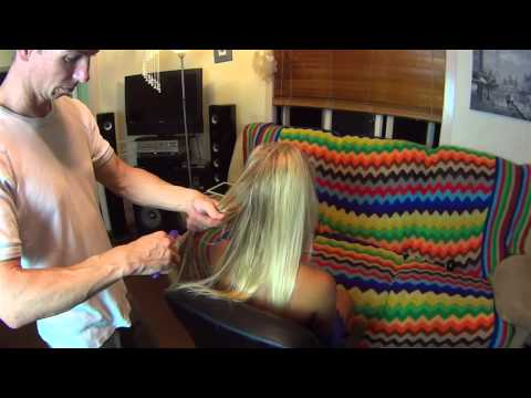 Head & Scalp Massage for Lady with Hair Brushing - ASMR 20min Long