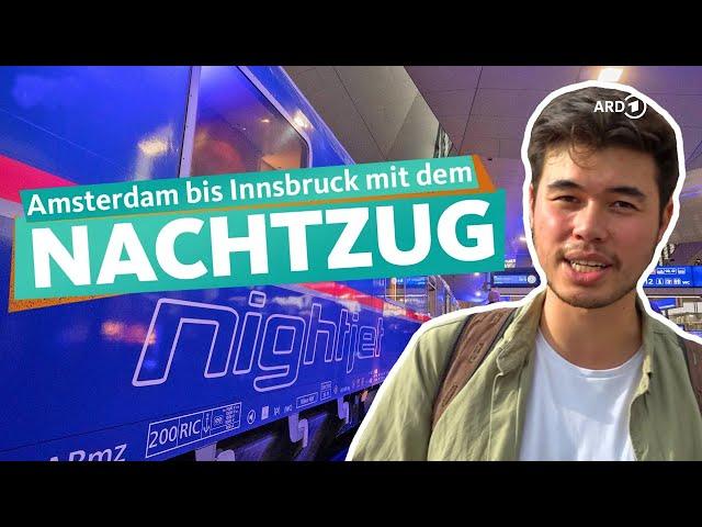 Mit dem Nachtzug von Amsterdam nach Innsbruck | WDR Reisen