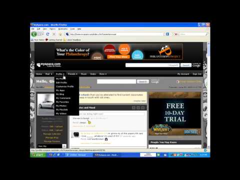 How to Add Myspace IM Bar on Your Myspace Homepage