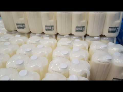 Costco New Milk Containers are more space saving?