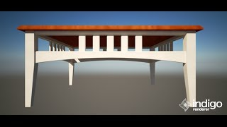 Modeling A Coffee Table