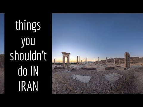 Things you shouldn't do in IRAN - www.apochi.com - Travel to Iran