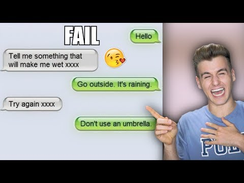 Hilarious Responses To Flirty Text Messages