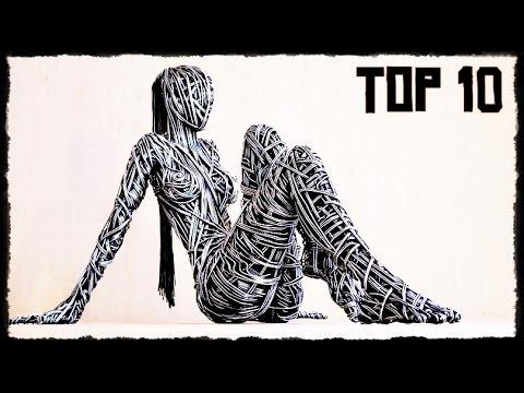 Top 10 EXOTIC Wire Sculptures ! HD