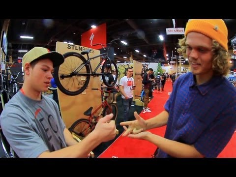 BMX GAME OF BIKE - STEVIE CHURCHILL VS DEVON SMILLIE