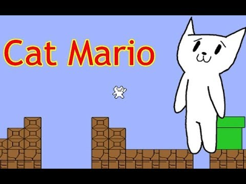 cat mario download full screen