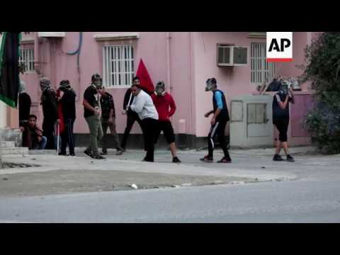 Teargas at Bahrain protest over Saudi killings