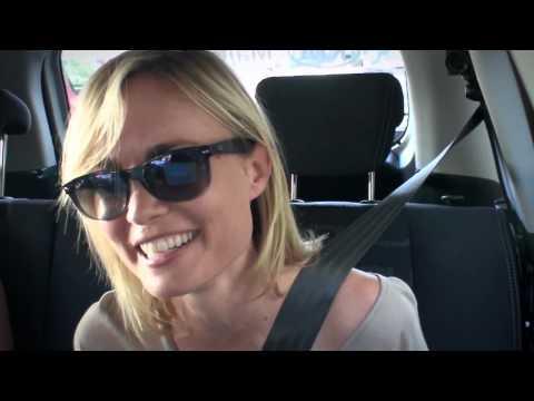 Radha Mitchell  The Open Drive: Australian Open 2012