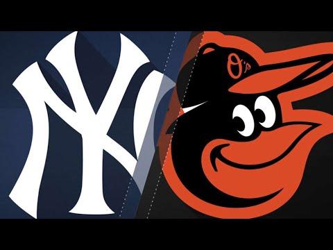 Happ, 4 home runs lead Yankees to a 10-3 win: 8/25/18